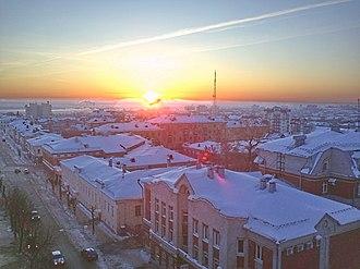 Kirov, Kirov Oblast - View of Kirov