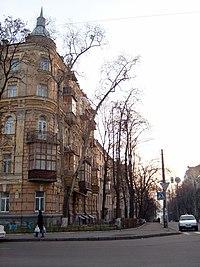 Вул.Толстого 19-1 - будинок університетської професури, історичний.JPG