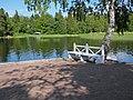 Выборг. Скамейка в парке Монрепо..JPG