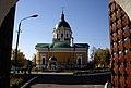 Зарайский кремль. Вид церкви св. Иоанна Предтечи из Троицких ворот.JPG