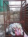 Контейнер для пластику в Бучачі часів міського голови Мосціпана.jpg