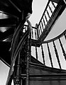 Марьино Дворец Интерьер Винтовая лестница (фото 6) Рыльский район 2019.jpg