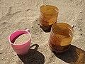 Отбор проб песка с карьера для исследования гранулометрического состава.jpg