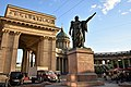 Памятник полководцу М.И. Кутузову, Казанская площадь, Санкт-Петербург.jpg