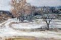 Ранняя весна, окресности Новохоперского, 1986 г.jpg