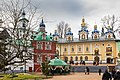 Свя́то-Успе́нский Пско́во-Пече́рский монасты́рь. Успенский пещерный храм.jpg