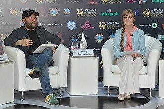 Timur Bekmambetov - Timur Bekmambetov and director Iren Vanidovskaya
