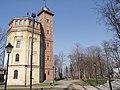 Украина, Киев - Водонапорная башня в Крещатицком парке 01.jpg