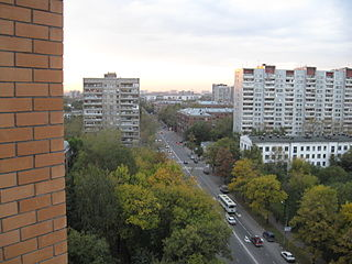 Novogireyevo District District in Moscow, Russia