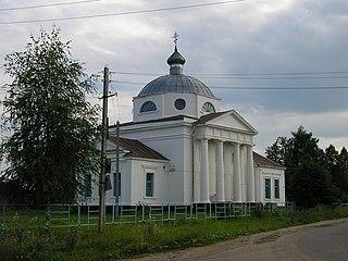 Maksatikha Work settlement in Tver Oblast, Russia
