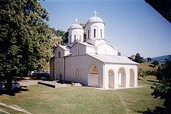 Црква Св. Николе Дабарског, Манастир Бања-Прибој.jpg