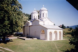 Antonije I - Serbian Orthodox Monastery of Banja, site of the Patriarchal Synod of 1571