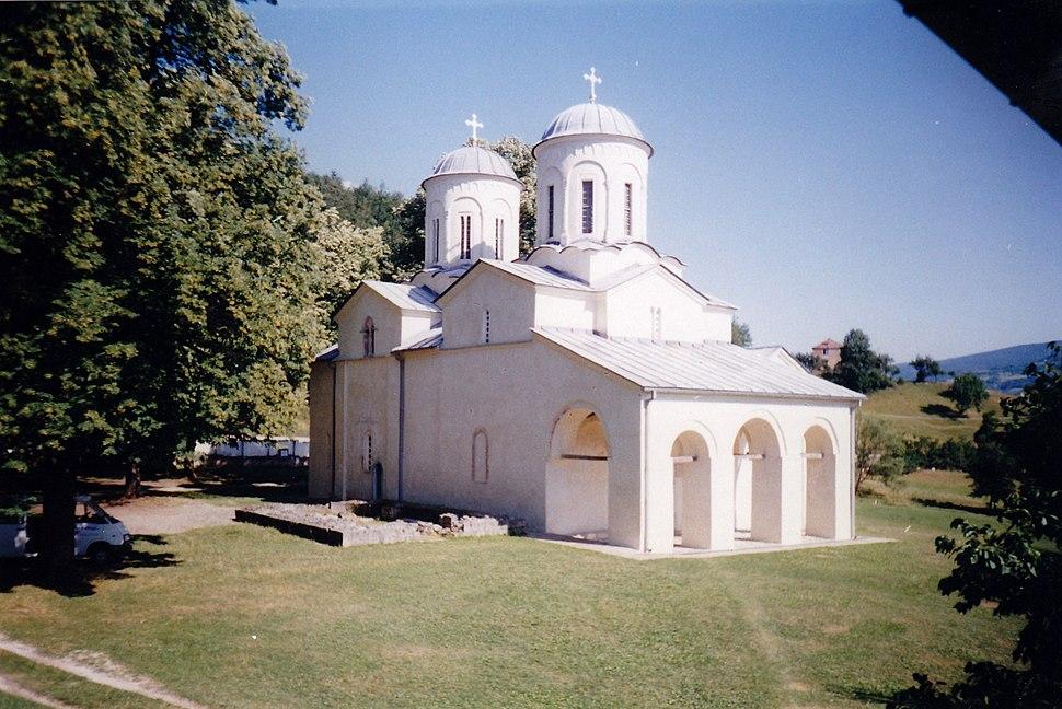 Црква Св. Николе Дабарског, Манастир Бања-Прибој