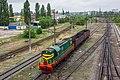 ЧМЭ3-2977, Россия, Воронежская область, станция Придача (Trainpix 198225).jpg