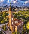 הכנסייה הרוסית פרבוסלבית לעת שקיעה.jpg