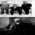 מנחם אוסישקין (יושב) בחברת בנציון מוסינזון (מימין) וחיים בוגרשוב 1910 בערך-PHZPR-1256728.png