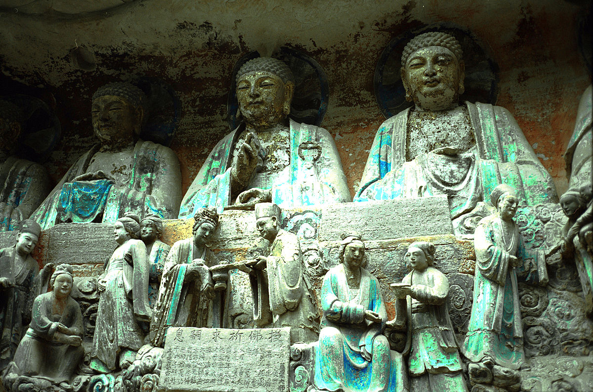 Dazu rock carvings wikipedia