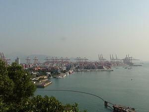 Port of Shenzhen - Image: 深圳赤湾货柜码头