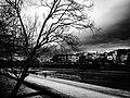 鴨川, 京都, 日本, かもがわ, きょうと, みやこ, きょうのみやこ, にっぽん, にほん, Kamo River, Kyoto, Japan, Nippon, Nihon (24584302413).jpg