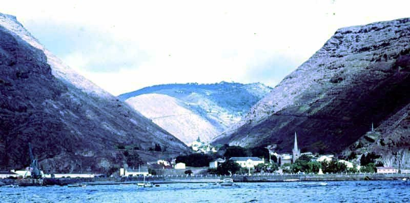 02 Last view of Jamestown St Helena June1970