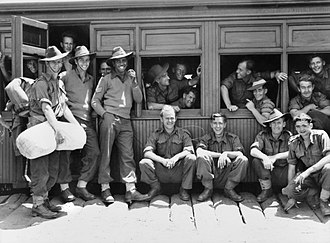 2/7th Battalion (Australia) - Image: 057894Reg Saunders 1943