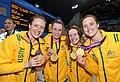 070912 - Women's 4x100m Medley Relay 34 Points - 3b - 2012 Summer Paralympics.jpg