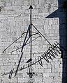 0 Eupen - Sankt Nikolaus-Kirche - Cadran solaire.JPG