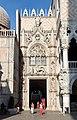 0 Venise, Porta della Carta du Palais des Doges(1).JPG