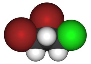 1,2-Dibromo-3-chloropropane - Image: 1,2 Dibromo 3 chloropropane 3d