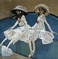 1. Francesc Xavier Gosé, Les dues germanes. c. 1910, Museu Nacional d'Art de Catalunya.jpg