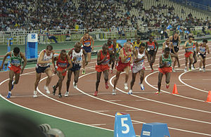 10,000-meter final during the 2004 Olympics