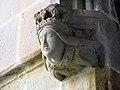 105 Sant Jeroni de la Murtra, cap d'Isabel de Castella, al claustre.JPG