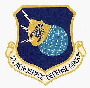 10th Aerospace Defense Group - Image: 10th Aerospace Defense Group emblem