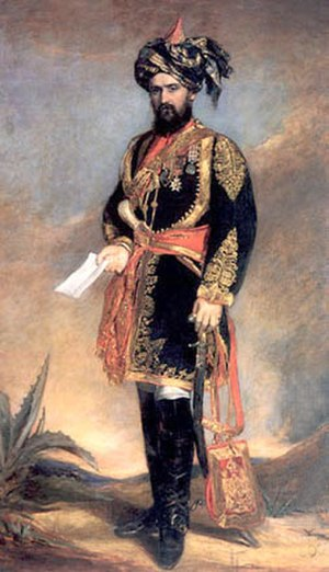 5th Horse - Major Dighton Probyn, VC, 1867
