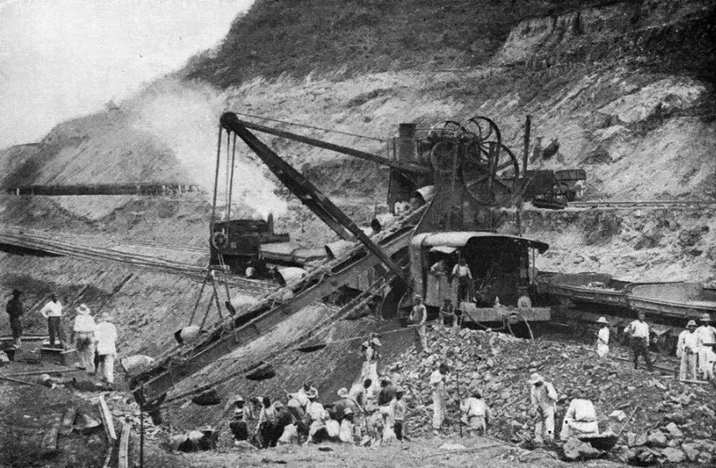 125-French method of excavation in Culebra Cut
