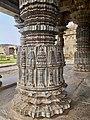 12th century Mahadeva temple, Itagi, Karnataka India - 135.jpg