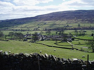 Healaugh, Richmondshire Human settlement in England