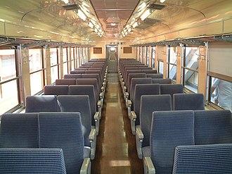169 series - Image: 169 interior Hachioji 20010801