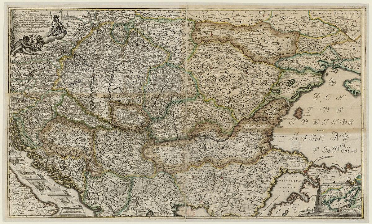 File 1740s Accurate Landkarte Die Konigreiche Ober Und Nieder