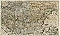 1740s - Accurate Landkarte die Königreiche Ober-und Nieder-Hungarn, Slavonien, Croatien, Dalmatien, Bosnien, Servien, Bulgarien und Romanien, das Groß Fürstenthum Siebenbürgen, die Fürstenthümer Moldau, Wallachien, Bessarabien.jpg