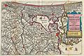 1747 La Feuille Map of Amsterdam and Vicinity, the Netherlands - Geographicus - Amstellande-ratelband-1747.jpg