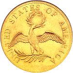 монетa сшa серебряный орел