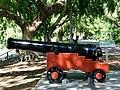1803 Cannon (serial 63914) in the City Botanic Gardens, Brisbane, 6.jpg