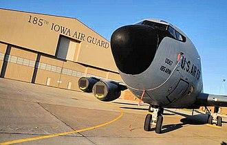 Sioux City Air National Guard Base - KC-135R, AF Ser. No. 58-0067, 185th Air Refueling Wing, Iowa Air National Guard