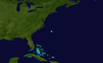 1864 Atlantic tropical storm 4 track.png