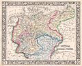 1864 Mitchell Map of Prussia and Germany - Geographicus - Prussia-mitchell-1864.jpg