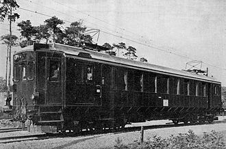Schöneweide–Spindlersfeld branch line - UEG electric test vehicle for the runs between Schöneweide and Spindlersfeld