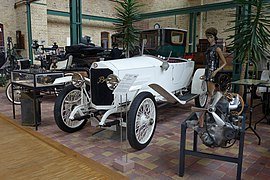 1918 Benz 8-20 PS Automuseum Dr. Carl Benz, 2014 (01).JPG