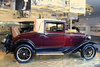 Plymouth (automobile) - 1928 Plymouth Model Q Coupe
