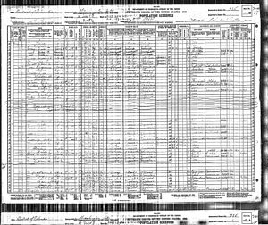 Annie Lee Moss - Image: 1930 census Moss 01